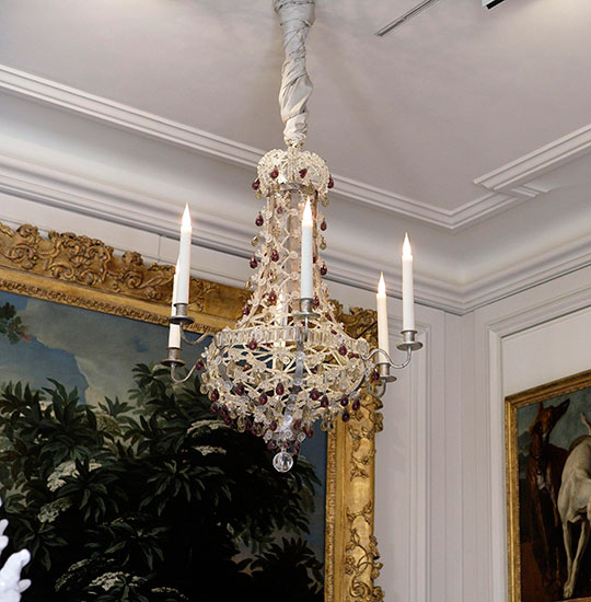 Restored chandelier back to its original state